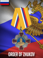 RUS - Order of Zhukov