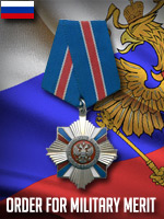 RUS - Order of Military Merit (Qtde: 1)