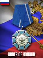 RUS - Order of Honour (Qtde: 1)