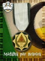 MEC - Medalha por Bravura (Qtde: 1)