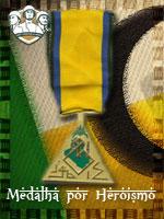 MEC - Medalha por Heroísmo (Qtde: 1)