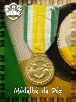 MEC - Medalha de Paz (Qtde: 1)