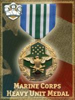 USMC - Marine Corps Heavy Unit Medal