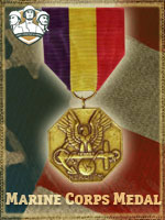 USMC - Marine Corps Medal (Qtde: 2)