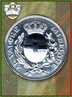 132ª - Medaglia d'Argento al Valor Milit (Qtde: 1)