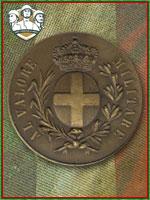 132ª - Medaglia di Bronzo al Valor Milit (Qtde: 1)