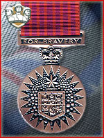9th - Medal of Bravery (Qtde: 1)