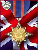 RA - Bravery Star Medal (Qtde: 1)