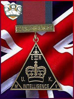 RA - Distinguished Intelligence Service (Qtde: 1)