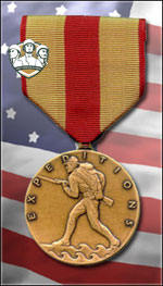 USMC - Marine Corps Expeditionary Medal (Qtde: 1)