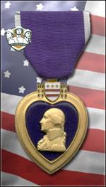 USMC - Purple Heart (Qtde: 1)