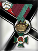 TA - The Royal Hungarian Order of St. Stephen (Qtde: 1)
