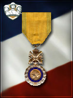 TE - Defense M�daille Militaire (Qtde: 2)